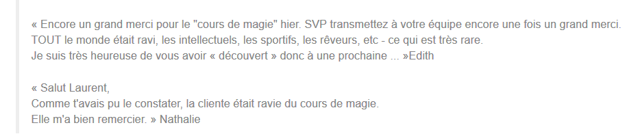 Commentaire magic academy
